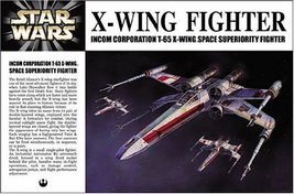 Star Wars X-Wing Japanese Collectible 1/72-Scale Model Kit - $38.07