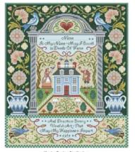 American Antique Sampler cross stitch chart Kooler Design Studio - $21.60