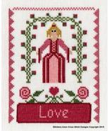 Maids of Virtue - Love cross stitch chart Stitchers Anon - $9.00