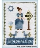 Maids of Virtue - Temperance cross stitch chart Stitchers Anon - $9.00