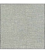 28ct Springfield Sage Lugana evenweave 18x27 cross stitch fabric Zweigart - $10.80