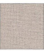 28ct Light Ash Grey Lugana evenweave 13x18 cross stitch fabric Zweigart - $6.00