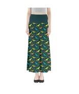 Women's Tyrannosaurus Printed Summer Stretchy Full Length Maxi Skirt Siz... - $28.99+