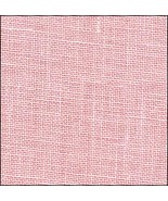 40ct Powder Rose Newcastle Linen 36x55 cross st... - $64.80