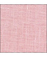 40ct Powder Rose Newcastle Linen 36x27 cross st... - $32.40