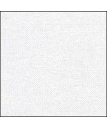 56ct White Meldal 18x35 cross stitch fabric Zwe... - $11.25