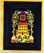 Spring House cross stitch chart Bobbie G Designs - $7.20