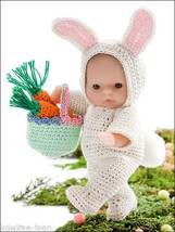 """Holiday itty bitty 5"""" baby Doll Clothes THREAD crochet PATTERNS for 9 ou... - $37.25"""
