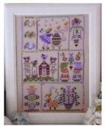 Easter In Quilt cross stitch chart Cuore e Batticuore  - $12.60