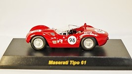 Original Kyosho 1/64 MASERATI MiniCar Collection (japan import) Tipo 61 Red - $59.99