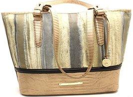 Brahmin Medium Asher Gold 00026 Leather - $295.02