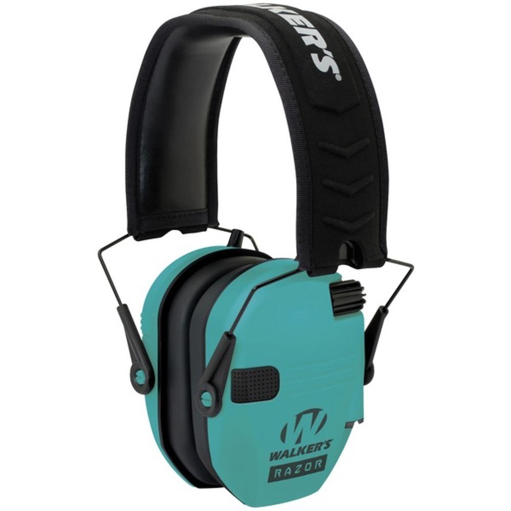 Walkers Game Ear GWP-RSEM-LTL Razor Electronic Muff (Tiffany Blue)