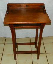 Quartersawn Oak Writing Desk / Writing Table - $399.00