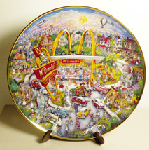 McDonald's Golden Moments Plate Limited Edition Franklin Mint by Bill Be... - $34.65