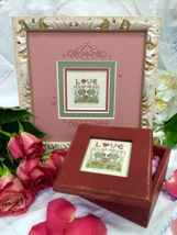 Love Is In The Air Kit cross stitch kit Shepherd's Bush - $12.00