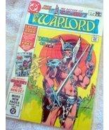 Warlord Comic Book -