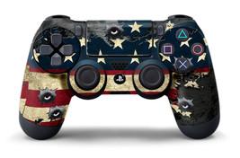 Designer Skin Sticker for PS4 Playstation 4 Dualshock Controller Decal USA TORN - $5.82
