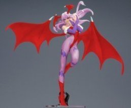 Darkstalkers Yamato Capcom Girls Collection 10 Inch PVC Statue Morrigan ... - $106.05