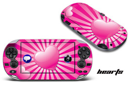 Skin Decal Wrap Sticker Mod For Sony Play Station Ps Vita Hand Held System  Hearts - $6.89