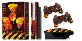 Skin Decal Wrap for PS3 Original Fat Playstation Gaming Console Controller MELTD - $11.76