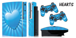 Skin Decal Wrap for PS3 Original Fat Playstation Gaming Console Controller HEART - $11.76