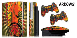 Skin Decal Wrap for PS3 Original Fat Playstation Gaming Console Controller ARROW - $11.76