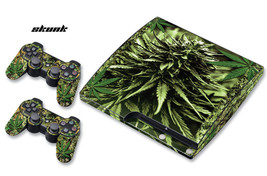Skin Decal Wrap for PS3 Slim Playstation Gaming Console Controller 3 PS3Slim WED - $11.76