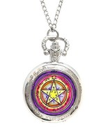 Solomons 2nd Venus for Grace & Honor Xl Locket Silver Necklace Pocket Watch - $24.95