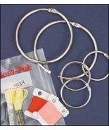 Floss Pak 2 inch metal ring pack 6 rings floss ... - $6.00
