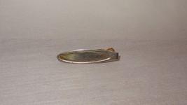 Vintage Tie Clip Gold Tone Costume Plain Oval - $21.04