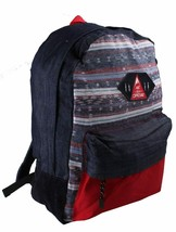 Official Salvador Aztec School Gym Bag Denim Backpack F15-3002 NWT