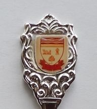 Collector Souvenir Spoon Canada Ontario Zurich Coat of Arms Emblem - $4.99
