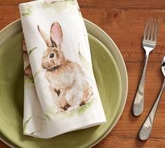 Pottery Barn Pasture Bunny napkins  set of 4   ... - $40.98