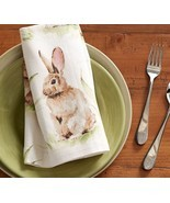 Pottery Barn Pasture Bunny napkins  set of 4   ... - $40.98