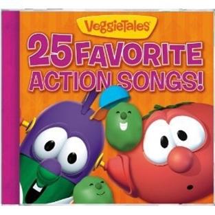 25 favorite action songs by veggie tales