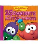25 FAVORITE ACTION SONGS by Veggie Tales - $15.99
