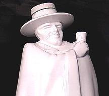 Wedgwood Moonstone Figural Decanter