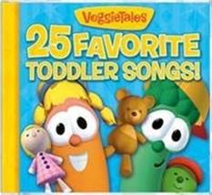 25 FAVORITE TODDLER SONGS by Veggie Tales