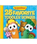 25 FAVORITE TODDLER SONGS by Veggie Tales - $15.95