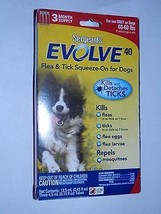 Sergeant's Evolve 40 Flea And Tick Squeeze-On FOR DOGS 40 to 60 Pounds F... - €6,14 EUR
