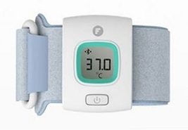 Fever Bluetooth Intelligent Thermometer Baby Wearable Smart Temperature ... - $42.00