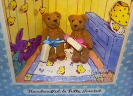 GUND THE LITTLEST BEARS TWINS WITH BABY BOTTL... - $8.95