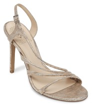 Vince Camuto Tiernan Snake Slingback Dress Sandals, Sizes 9-10 Natural M... - $71.95