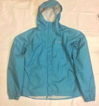 Pre-owned  COLUMBIA Teal Windbreaker Jacket Packable  SZ 18/20 Youth Women's S/M - $44.50