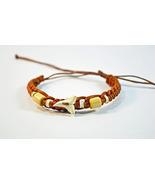 Shark tooth Leather bracelet  - $10.50
