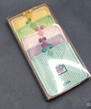 Vintage Fabric Pastel Korea Souvenir Asian Themed Coasters // Drink Coasters - $7.50