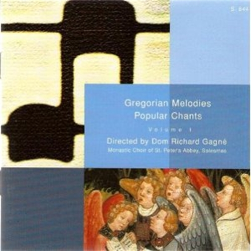 Gregorian melodies volume i by solesmes monastic choir of the abbey of st. peter