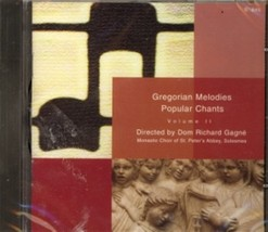 Gregorian melodies volume ii by solesmes monastic choir of the abbey of st. peter thumb200