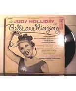 "LP ""Bells Are Ringing"" Judy Holliday 1956 - $18.20"