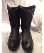 Mens Laredo Western Boots Black Sz 10 EE Oil Pr... - $59.30